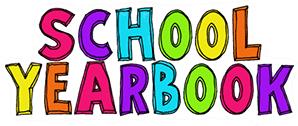 Clip Art of Yearbook words