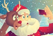 Picture Santa clipart